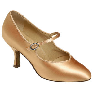 1012 by Supadance women's closed round toe satin court