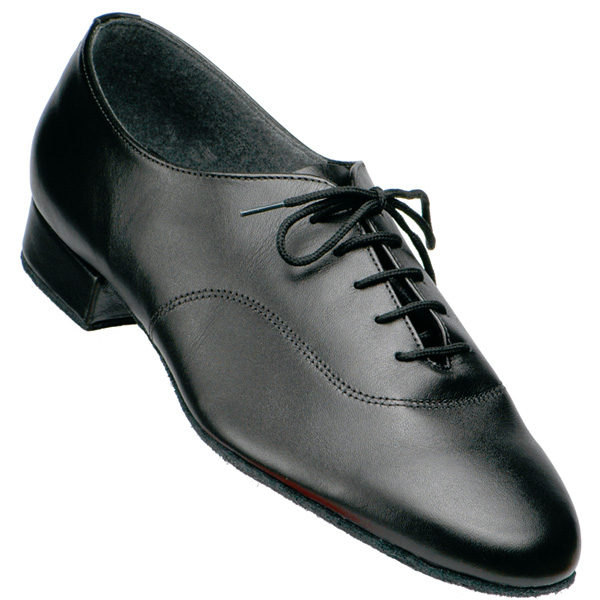 men's supadance 5000 in black calf skin leather with standard heel for ballroom