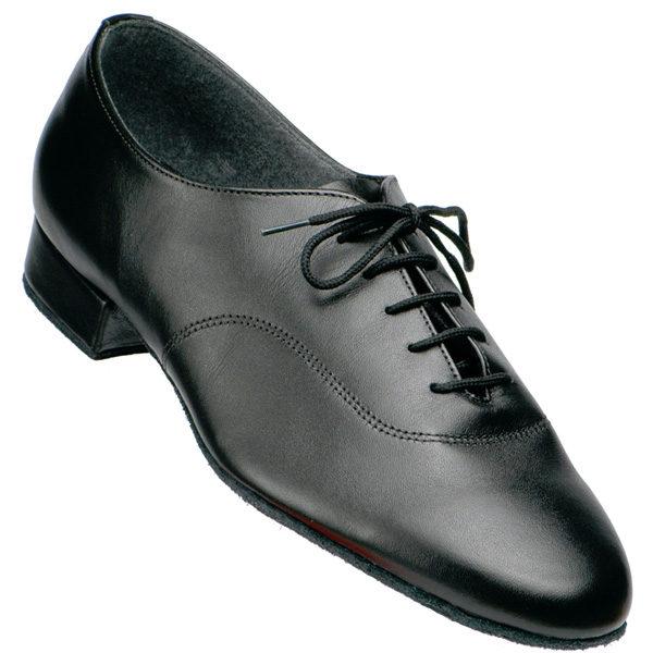 men's supadance 5000 in black calf skin leather with standard heel for ballroom