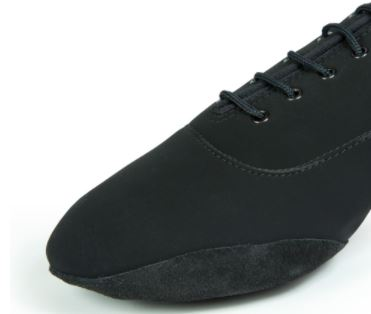 men's contra black international side suede lip inside foot glide smooth lace up